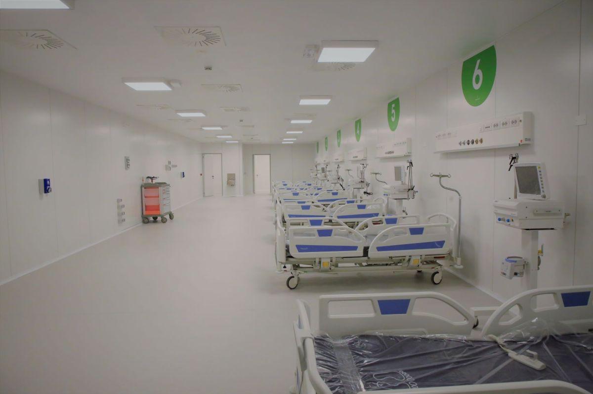 Ospedale Fiera Milano – pronti  i primi 50 posti di terapiaintensiva