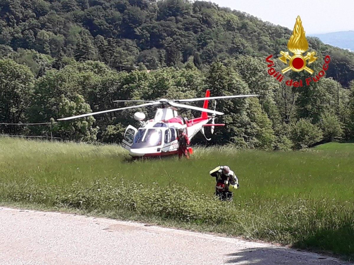 """Emergenza di """"ricerca persona"""" tramite elicottero sospesa – ancora disperso ilcane"""
