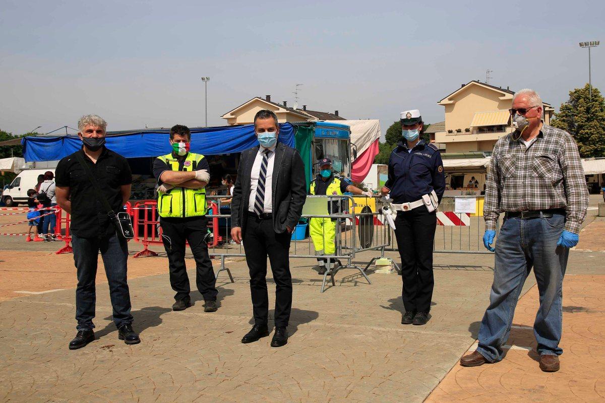 Riapre il mercato di Cassano Magnago: buona affluenza ed ambulantisoddisfatti