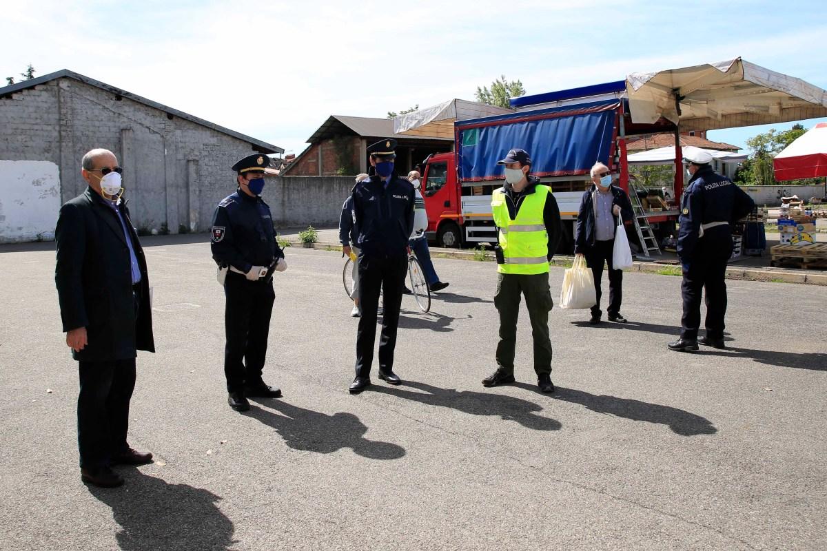 MERCATO DI GALLARATE: Riparte il commercio, dubbi però su sicurezza esalute